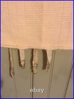 1940's Very Vintage small open bottom girdle w garters #1