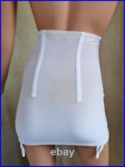 Berlei Open Bottom Girdle White Waist Size 29-30 A-33
