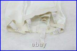 Figurettes Open Bottom Girdle 6 Garters Satin Panels L size CC Vintage