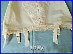 Girdle Shaper Open Bottom Beige Custom Maid O6 Large L Bone-free Shapewear