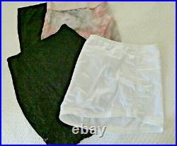 LOT of 4 Tight Shapewear Open Bottom Girdle Slips Vanity Fair, Subtract L & 1X