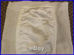 NEW Vtg 1950s Rubber Knit Satin Panel Open Bottom Girdle Garter Belt Shaper Sz S