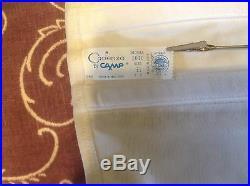 NIB Vintage Wht 1010 camp open bottom corset girdle with 4 garters sz EL