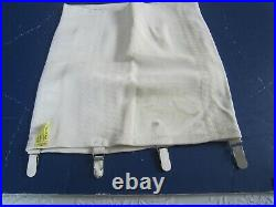NOSWOT MISS HOLLY 5th Ave Open Bottom GIRDLE CORSET with4 Garters Size 38-4X Lg