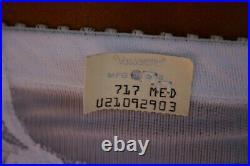NOS! Vintage VASSARETTE Open-Bottom Shapewear Panty Girdle Garters with Tags S/M