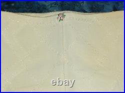 NWOT Vintage Double Diamonds Playtex Girdle / Open Bottom Girdle/ 6 Garters