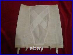 NWOT Vintage Open Bottom girdle with 4 garters size 40 Soft Skin Real Form