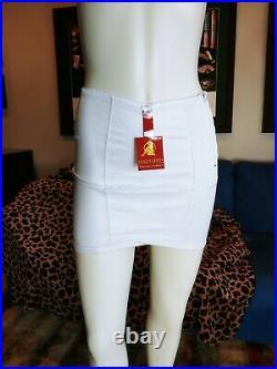 NWT Excellent Brand Open Bottom White Girdle Size XL