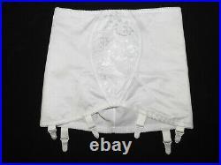 Neu! Retro! Vintage M&S Straps-Strumpfgürtel Mieder open bottom girdle Gr. L Sissy