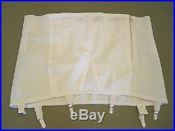 New Crownette 1114 Open Bottom Girdle Shaper White 46 Shaper Shapewear