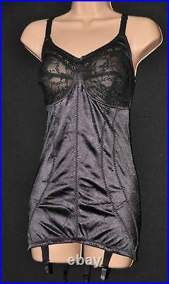 OPEN 1 Silky soft open bottom girdle (OBG) / corselet, 40B/42B/C, BN, Black
