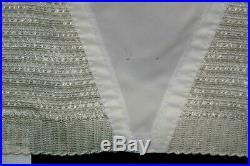 Pretty Puckers XL 31/32 VTG Rubber NOS Open Bottom Girdle Metal Garter Belt 60s