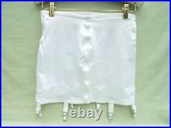 RAGO Open Bottom 6 Strap Girdle (white) Size 36/3X Excellent Condition