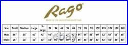 RAGO SHAPEWEAR BLACK ZIPPERED OPEN BOTTOM GIRDLE FIRM SHAPING GARTER Size Medium