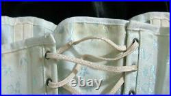RARE50sSPENCERTightlacing Corset Open Bottom Girdle Boned Garters 32 Waist