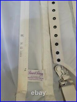 RARE Vintage Open Bottom Girdle All in One Garter Corset SMART-FORM
