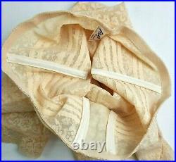 Rago Girdle Womens 8X Style 6207 Metal Garters Open Crotch Lace Shaping