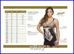 Rago Open Bottom Extra Firm Shaping Girdle Style 1294
