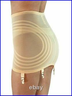 Rago Shapette Open Bottom Beige Garter Girdle Plus Size 38/4XL