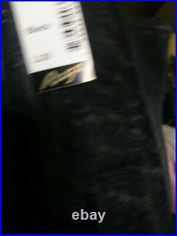 Rago style 21 Black Open bottom Girdle cincher L (30) suspender belt