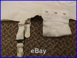 Rare Vtg 60s NEW Rubber Wear 2 Ways Open Bottom Garters Girdle Panties XL 31/32