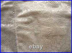 SCANDALE No. 8 Lace Girdle S Ivory Firm Open Bottom Skirt, Built-in Pants NWoT