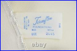 Sassy Vintage Formflex Rubber Latex Ob Girdle 4 Garters Nos Box/tags Large