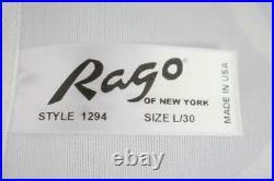 Sassy Vintage Inspired Rago Hi-waist Zippered Ob Girdle 8 Garters Nwt L/30