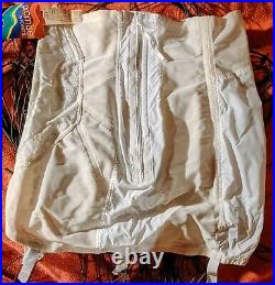 Unused PROMISE POIRETTE High-Waist Open Bottom Girdle Shaper with Garters 36F Tags