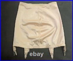 VINTAGE 60s OPEN BOTTOM GIRDLE / Suspenders / GARTERS sz 8 / 6 FORMFIT Bodyshape