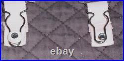 Vintage 1940 Rengo All in One Bra Open Bottom Shaper Garters Corset Pink Size 40
