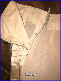 Vintage 1940s Warners Le Gant Sta-Up-Top Pink Open Bottom Girdle S-30