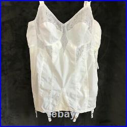 Vintage Bien Jolie Open Bottom Girdle / Corset Size 40B Style 6789 Rare