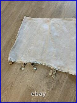 Vintage Garter Belt Girdle Open Bottom VINTAGE