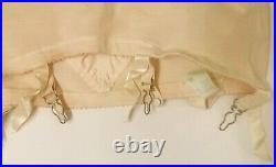 Vintage Gossard Girdle Garters Opened Bottom Sz 31