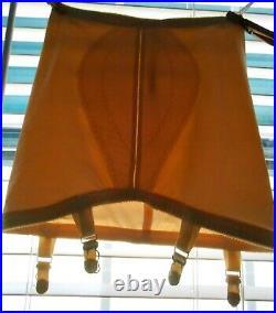 Vintage I Can't Believe It's A Girdle Open Bottom Sz Medium 4 Garters