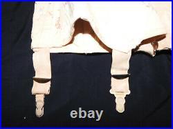 Vintage Jacqui alter Strumpfgürtel Strapsmieder Open Bottom Girdle Corset Gr. 90