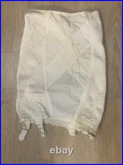 Vintage Large open bottom girdle By Soft Skin Real Form #106 VINTAGE
