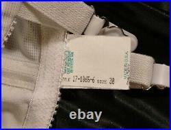 Vintage NWT Crown Hi-waist Firm OBG Open Bottom Girdle sz30