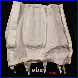 Vintage NWT Rago 2606 Very Firm OBG Open Bottom Girdle sz 32