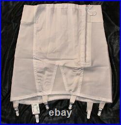 Vintage New Crown-ette Hi-waist Firm OBG Open Bottom Girdle sz30
