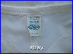 Vintage OPEN BOTTOM GIRDLE, white with 6 garters size 36 Sears