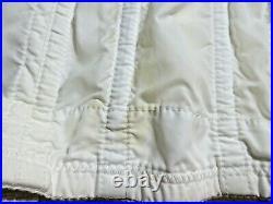Vintage Open Bottom Girdle Corset WHITE Lingerie