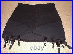 Vintage Open Bottom Girdle With 10 Suspenders 28 To 32 In Waist Size 12 To 14