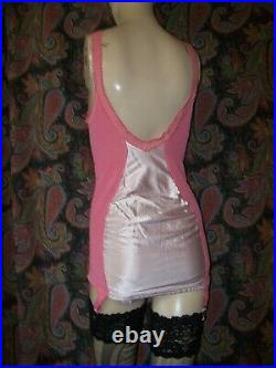 Vintage Penney's Adonna Plus Size All-In-One Open Bottom Garter Girdle 42B