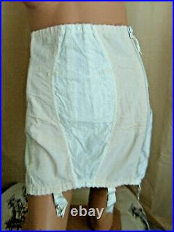 Vintage Rago OPEN Bottom Girdle garters size 33