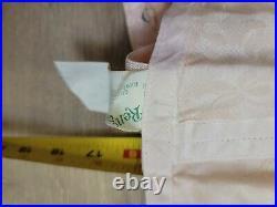 Vintage Rengo Open Bottom Girdle Hook n Eye Closure with Garters Size 35/ Peach