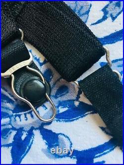 Vintage TREO Open Bottom Girdle Corset Black Lingerie