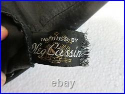 Vintage Vanity Fair Open Bottom Girdle Corset Black Lingerie