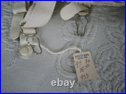 Vintage WARNER'S Le Gant Style 933 Sz 30 Open Bottom GIRDLE withOriginal Tag & Box